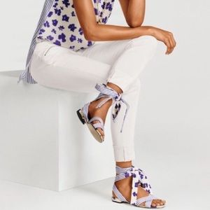 Cabi | Tied Up Sandals